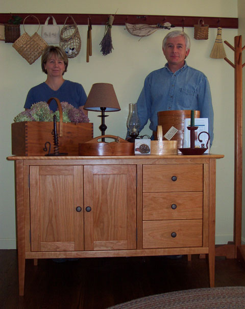 owners Lynne and Sonny Bride
