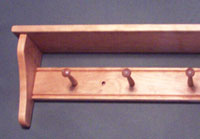 Cherry with short shelf supports