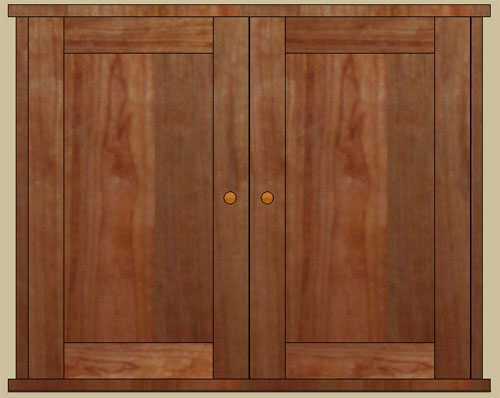 double door surface mount medicine cabinet